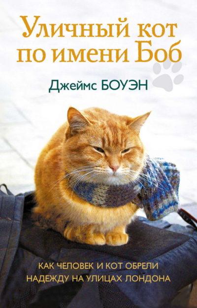 realnye-istorii - Уличный кот по имени Боб. Как человек и кот обрели надежду на улицах Лондона -