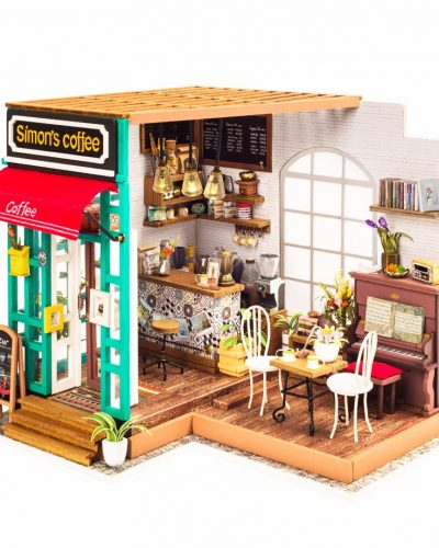 """Интерьерный конструктор DIY House """"Simon's Coffee"""""""