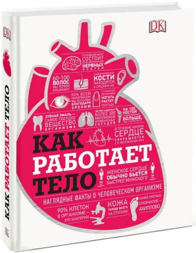 detskij-non-fikshn - Как работает тело. Наглядные факты о человеческом организме -