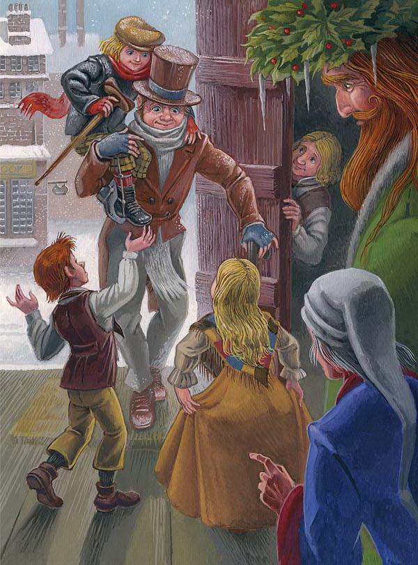 knizhnye-obzory - Чарльз Диккенс. Рождественская песнь в прозе: топ-5 русских изданий - рождество и новый год, викторианская эпоха