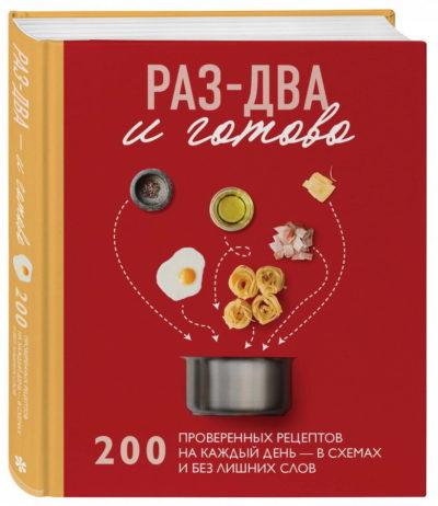 kulinarnoe-iskusstvo - Раз-два - и готово. 200 проверенных рецептов на каждый день - в схемах и без лишних слов -